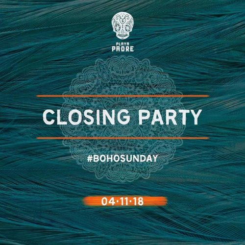 Playa Padre Closing Party 2018 - SO&SO In The Mix...